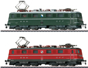 Swiss Double Electric Locomotive Set Re 6/6 of the SBB - MHI 25 Year Anniversary