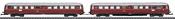 Class ETA 150 Battery-Powered Rail Car with a Class ESA 150 Control Car