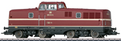 German Diesel Locomotive Class 280 of the DB (Sound)