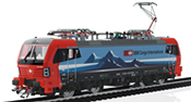 Swiss Vectron Electric Locomotive Class 193 of the SBB Cargo (Sound)