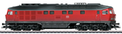 German Diesel Locomotive Class 232 of the DB AG (Sound)