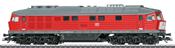German Diesel Locomotive Class 232 of the DB AG