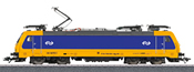 Dutch Electric Locomotive cl E186 of the NS - Start Up (Sound Decoder)
