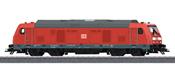 German Diesel Locomotive cl 245 of the DB AG - Start Up (Sound Decoder)