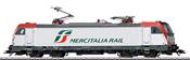 Italian Electric Locomotive Class 494 Mercitalia (Sound)