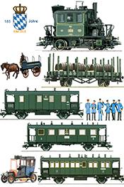 1900s  Bavarian Local Branch Line Set