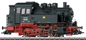 German Steam Locomotive BR 80 of the DR