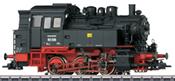 German Steam Locomotive BR 80 of the DR
