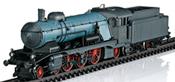 Dgtl K.W.St.E. cl C Express Locomotive with a Tender, Era I