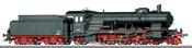 German Steam Locomotive Class 18.1 of the DB (Sound)