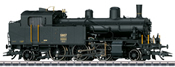 Swiss Tender Steam Locomotive Series Eb 3/5 of the SBB (Sound Decoder)