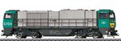 Belgian Diesel Locomotive cl G 2000 of the SNCB (Sound Decoder)