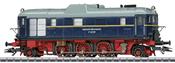German Diesel-hydraulic Locomotive Series V 140 001 of the DR (Sound)