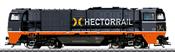 Swedish Diesel Locomotive G 2000 of the Hectorrail
