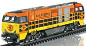 Diesel Locomotive class G 2000 BB Vossloh (Sound)