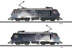 Swiss Electric Locomotive Class Re 4/4 of the SOB (Sound)