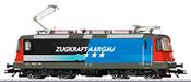 Swiss Electric Locomotive Class Re 4/4 of the SBB (Sound)