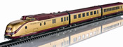German VT 11.5 TEE Diesel Powered Rail Car Train – Gold-Plated Special Edition