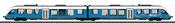 German LINT 41 Diesel Powered Commuter Rail Car of the DB AG