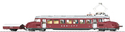 Swiss Powered Rail Car Class RCe 2/4 of the SBB (Sound)