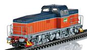 Swedish Diesel Locomotive of Green Cargo