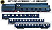 German 1940's Express Train (2018 Limited Toy Fair Dealer Set)