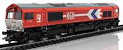 German Diesel Locomotive EMD Serie 66 of the HGK