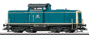 German Diesel Locomotive Class 212 of the DB (Sound)