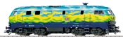 Dgtl DB AG cl 218 Touristik Diesel Locomotive, Era V