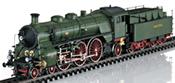 Royal Bavarian Steam Locomotive Class S 3/6 Hochhaxige / High Stepper of the K.Bay.St.B