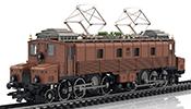 Swiss Electric Locomotive Class Fc 2x3/4 of the SBB (Sound)