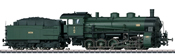Bavarian Freight Steam Locomotive w/Tender cl G 5/5 (Sound Decoder)