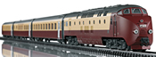 Swiss Diesel Powered Railcar Train Class RAm TEE EDELWEISS (Sound Decoder) - Marklin Club
