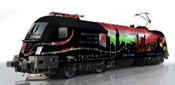 Hungarian Electric Locomotive 91 43 0470 505-8 of the GYSEV (Sound Decoder)