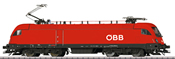 Austrian Electric Locomotive Class 1116 of the OBB (Sound)