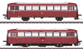 German Powered Rail Car Class VT 98.9 of the DB (Sound)