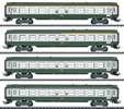 French Era III Tin Plate Passenger Car Set (Exclusive 30 Year MHI Model)