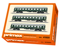 DB Tin-Plate Passenger 3-Car Set for the E44, Era III