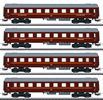 Swedish Passenger Cars-Set z. Reihe Da