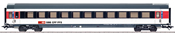 SBB Express Train Passenger Car, IC-Design, Era VI