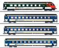 BLS Mark IV Express Train Passenger 4-Car Set, Era V