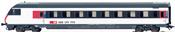 SBB Express Train Cab Control Car, IC-Design, Era VI