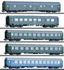 DR/DDR GDR German State Railroad Passenger 5-Car Set, Era IV