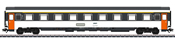 French Eurofima type A9u Passenger Car of the SNCF