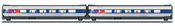 2pc French TGV POS Add-on Car Set 2 of the SNCF