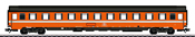 SNCB Type BI6 Passenger Car, 2nd Class, Era IV