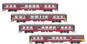 SNCB/NMBS Commuter 4-Car Set