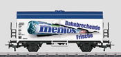 mentos Refrigerator Car - Start up
