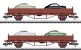 SJ Saab 92 Stake 2-Car Set, Era III