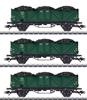 3pc SNCB High Side Gondola Set w. Coal Loads